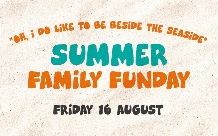 Family Funday summer artwork