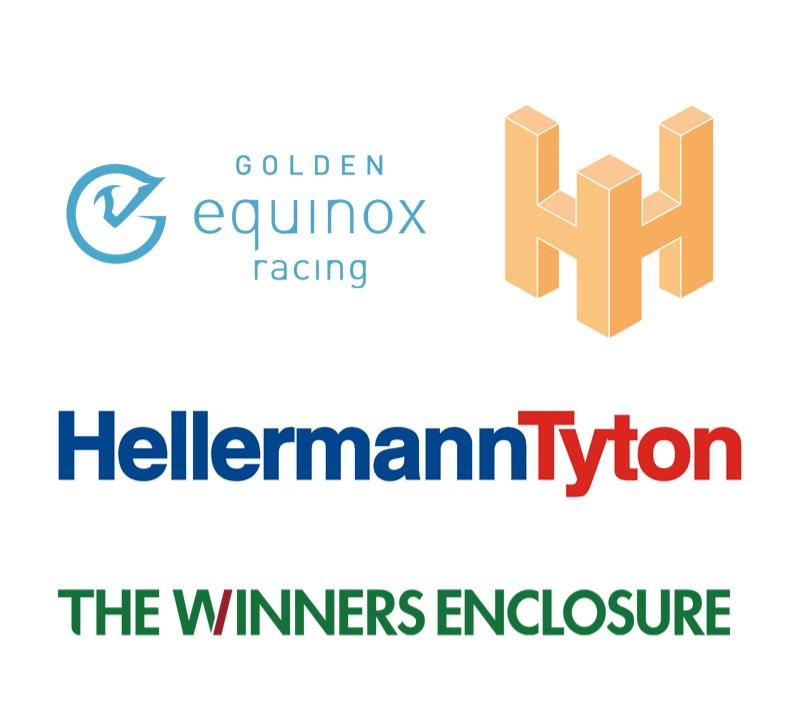 An image showing some of the sponsors of Wolverhampton Racecourse.