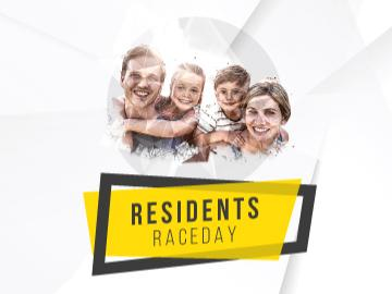 Enjoy a great day of racing for free at our residents raceday using promo code RESI19.