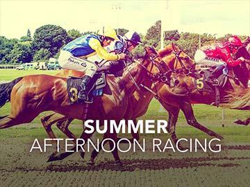 Summer Afternoon Racing event banner