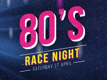 Join us for a great day out at wolverhampton racecourse, with an 80s twist.