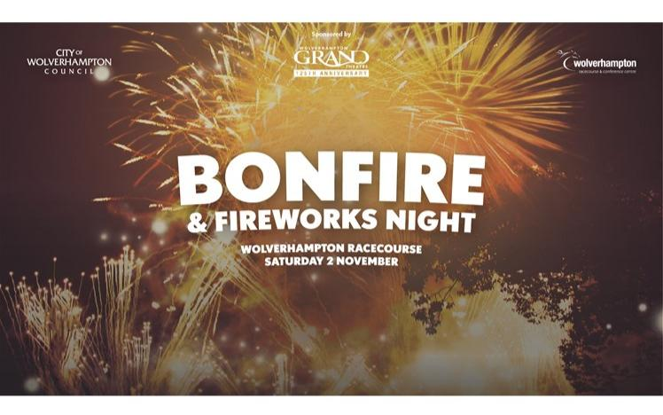 City Of Wolverhampton Bonfire and Fireworks Display artwork