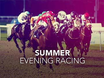 Summer Evening Racing event banner.