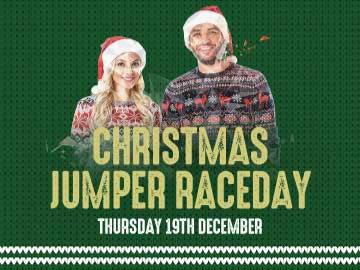 Christmas Jumper Raceday artwork