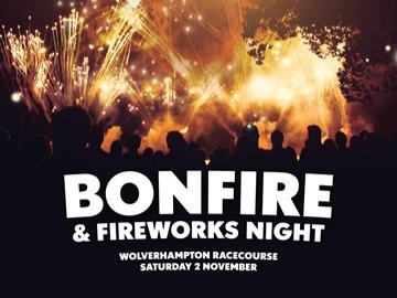 Bonfire and fireworks night artwork